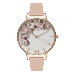 Enchanted Garden Dusty Pink, White & Rose Gold | Olivia Burton London