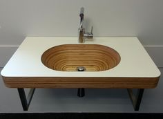 Model #FerdinandBol in white matt lacquer. Size 850x500x50mm (lxbxd). Available in any wood type, size and finish.