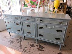 FAUX BAMBOO Dresser 7835