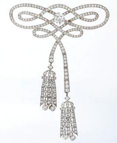 Devant de Corsage - 1920 - by Tiffany & Co. - Sotheby's