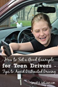 Eleven teens die every day because of texting while driving. Here's how to set a good example for teen drivers and stop your own distracted driving habits. AD