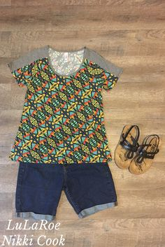 Patterned Classic T