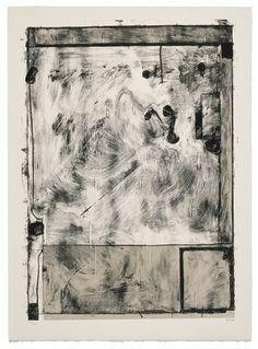 Richard Diebenkorn Scrabbling/Каракули, 1985  литография в 3 цвета 86 x 63 cm) тираж 47 экз $9,500  #Diebenkorn #lithography #geminigel