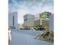 Spielbudenplatz 2016, NL Architects and BeL Sozietät für Architektur