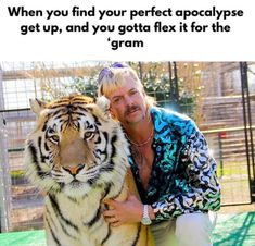 Joe Exotic knows fashion - Tiger King