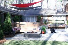 Chip Wade Backyard Renovation - Backyard Decorating Ideas