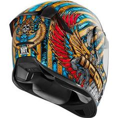 Icon Airframe Pro Pharaoh Helmet - Motorcycle Superstore