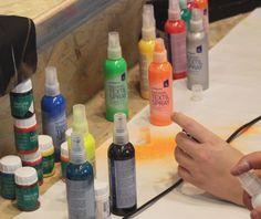 Fashion Textil Spray, pintura para tela en spray para realizar decoraciones y técnicas con resultados increibles