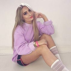 "65.2k Likes, 1,251 Comments - Saffron Barker (@saffronbarker) on Instagram: ""PURPLE"""