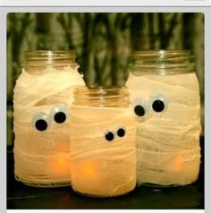 Cute mummy decorations
