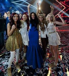 after they won the X-Factor :))