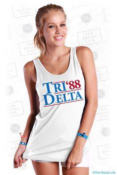Tri Delta Election Tank
