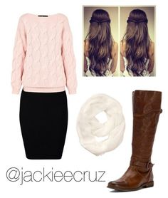 """""""Girly but Casual-Fall Outfit"""" by jackieecruz on Polyvore featuring Just Female, AV by Adriana Voloshchuk, Athleta and Frye"""