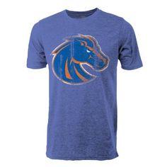 Medium NCAA Boise State Broncos Youth Vintage Sheer Short Sleeve Tee Dark Grey Heather
