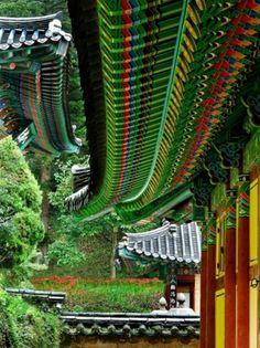 Buddhist temple in South Korea