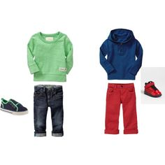 """Little Boy Fashion"" by golftc on Polyvore"