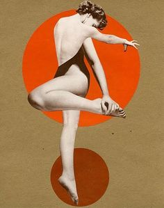Flexible, 2013, collage by Angelica Paez.