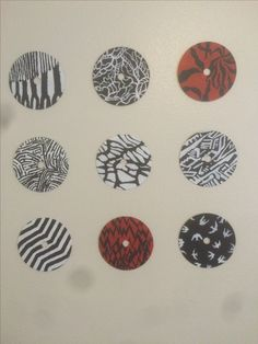 Twenty One Pilots TØP DIY wall decor painting CDs blurryface album art skeleton clique ( |-/ )
