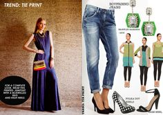 Trend: The Print.                                         Printing it back! Let Ritu Kumar be your style guide with subtle prints this season.