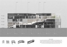 feeel, design, Connecting designers to the World Architectural Floor Plans, Architectural Section, Tropical Architecture, Interior Architecture, Concept Diagram, Urban Farming, Urban Planning, Design Process, Facade