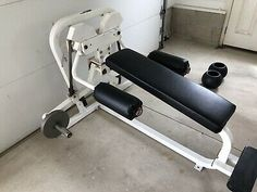 Ad(eBay) Nautilus 10 Degree Plate Loaded Fly Leg Press, Bench Press, Lifting Workouts, Nautilus, Pulley, Weight Training, Squats, Gym Equipment, Gadgets