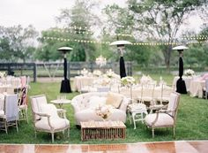 Wedding lounge space