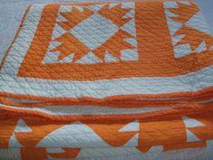 Great Cheddar 'Mosaic' Antique Quilt | eBay