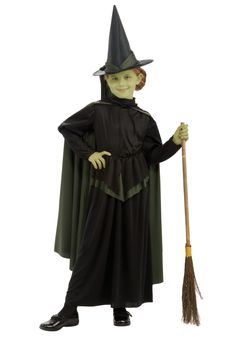 Kid's Wicked Witch Costume