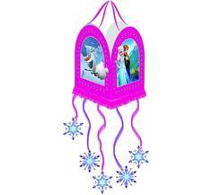 Piniata urodzinowa z bohaterami bajki Frozen - Kraina Lodu.