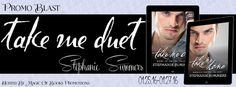Check out the contemporary romance duology Take Me Duet by Stephanie Summers                                      http://padmeslibrary.blogspot.com/2016/01/take-me-duet-by-stephanie-summers.html