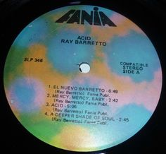 Ray barretto Acid original Fania Label