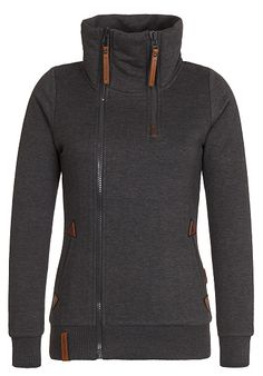 NAKETANO Hamza Bau ma - Sweat Jacket for Women - Grey