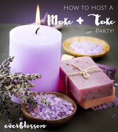 Hosting a make and take party is SO much fun and everybody gets to come away with some beautiful handmade items. Here's how to make it happen!