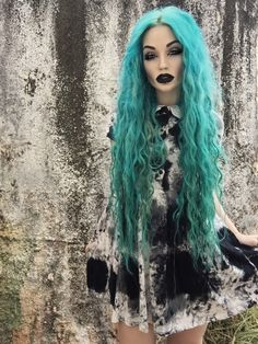 "theproserpina: ""Wearing my Disturbia Clothing ""Storm"" dress. """