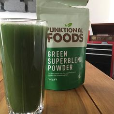 Thank God for the ginger in this. Or I could just eat my greens. (From Instagram)