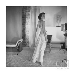 Jacqueline de Ribes, photo by Horst, 1953 Vintage Glamour, Vintage Beauty, 1920s Glamour, Vintage Outfits, Vintage Gowns, Moda Vintage, Vintage Mode, Vintage Style, Jacqueline De Ribes