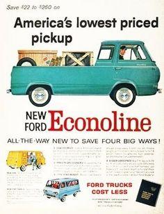 1961 Ford Econoline Ad.