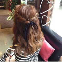「オーダーメイドフォトウエディング♡」の画像|My Style |Ameba (アメーバ) Messy Hairstyles, Pretty Hairstyles, Wedding Hairstyles, Hair Color 2017, Hair Up Styles, Hair Arrange, Elegant Wedding Hair, Hair Game, Ginger Hair