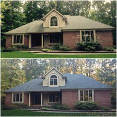 We Replaced The Roof On This Home In Clarkston MI And Installed New GAF Timberline Shingles