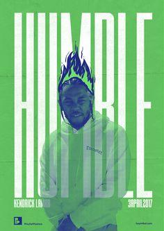 "playlistposters: ""Playlist-posters // Kendrick Lamar - HUMBLE. """