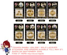 Touken Ranbu ONLINE new items. They rock! - A Rinkya Blog