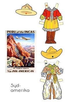 """종이인형 (lis & per) : 네이버 블로그* 1500 free paper dolls international artist Arielle Gabriel""""s The International Paper Doll Society for pinterest paper doll pals *"""