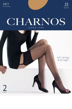 5454b384c031b Charnos 24/7 15 Denier Stockings (2PP)