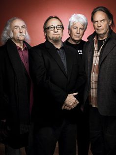 David Crosby, Stephen Stills, Graham Nash, Neil Young (a.k.a. CSNY)