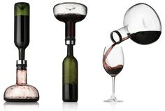 stylish Danish innovator - wine decanter