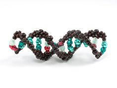DNA double helix made with beads