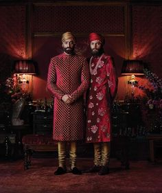 Sabyasachi Couture 2016 – Another Journey Through Colonial India – Jugni Style Mens Indian Wear, Mens Ethnic Wear, Indian Groom Wear, Indian Men Fashion, Indian Bridal Wear, Indian Wedding Outfits, Men's Fashion, Indian Male, Sikh Wedding