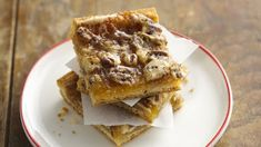 Pecans rich sweet filling on a flaky pie crust. Perfect for the holidays.