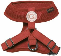 AmazonSmile: Gooby Choke Free Freedom Harness II for Dogs, Large, Red  Ollie wants one in red