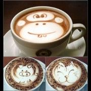 How do you feel about a monkey in your coffee? or a pig or a cat....???